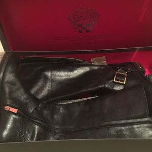 Vince Camuto leather boots New With Box