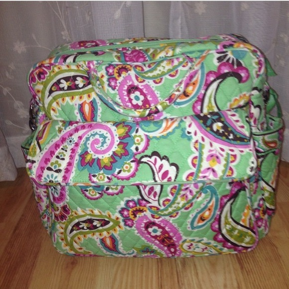 62 off vera bradley handbags vera bradley convertible diaper bag from heather 39 s closet on. Black Bedroom Furniture Sets. Home Design Ideas