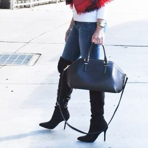 H&M over the knee boots