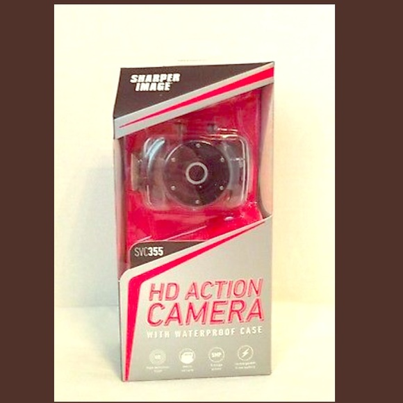 Sharper Image Bags Hd Waterproof Action Camera Svc355 Poshmark