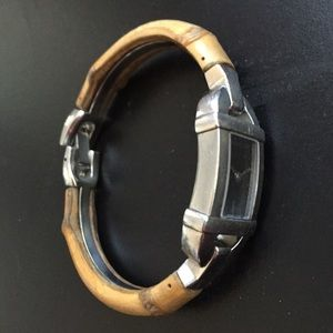 1a91efde2ef Gucci Jewelry - Gucci watch with bamboo band