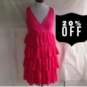 New York & Company Dresses & Skirts - PINK Ruffle Dress