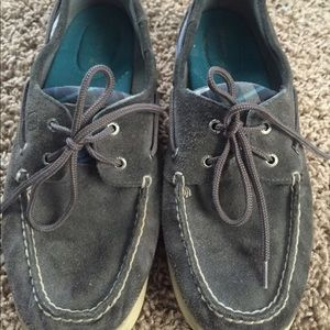 Sperry Top Sider Plaid Boat Shoes