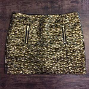 NWOT Topshop mini skirt. Very unique