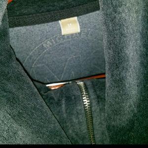 Michael Kors Grey Velour Jacket