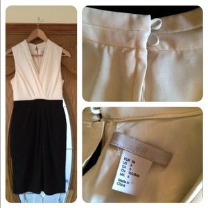 H&M White and Black Dress.