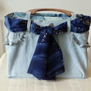 Handbags - Jean bag.