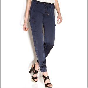 Michael Kors slim leg cargo pocket pants