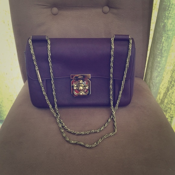 c136f7fd142 Chloe Elsie Medium Purple shoulder bag