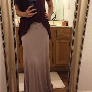 Dresses & Skirts - Mauve Maxi Skirt