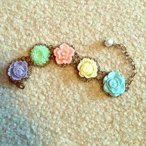 Hearts Jewelry - Flower Bracelet