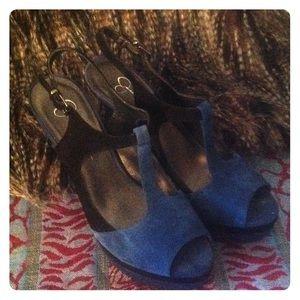 Jessica Simpson Twilight Blue JS-Elso Sandals