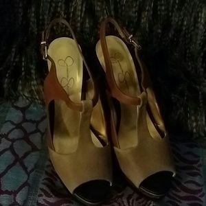 Jessica Simpson Luggage Spider Dull JS Elso Sandal
