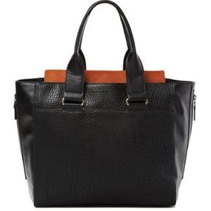 French Connection Vegan Leather Tote Bag