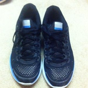 d4325e31959f Nike Shoes - Nike Lunarglide 4 H20 Repel (Blue Silver Black)