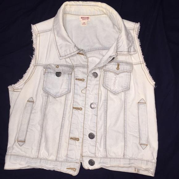 c0bcbf19fff5d Mossimo supply co jackets coats light denim cut off jean jacket jpg 580x580 Cut  off jean