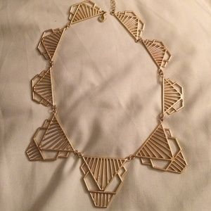 Bauble Bar Jewelry - Bauble Bar Goldtone Tribal Necklace