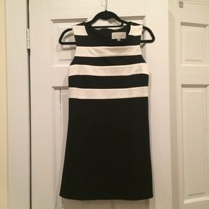 FINAL MARKDOWN: Black and White Striped Dress