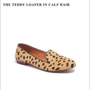 Madewell Teddy Loafer in Calf Hair
