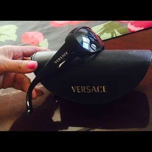 VERSACE sunglasses black color