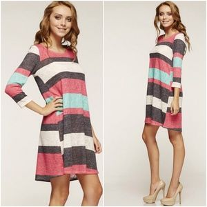 Dresses & Skirts - ‼️SALE‼️Lily Colorblock Tunic