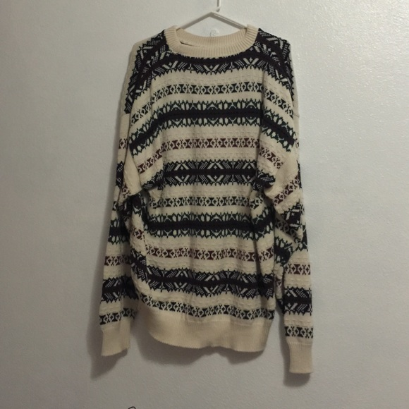 Vintage Multicolored Mens Sweater 31
