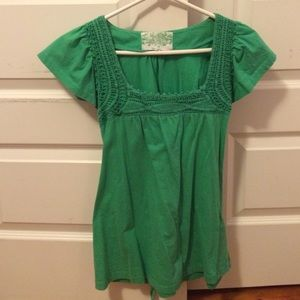 New Look Green Short Sleeve