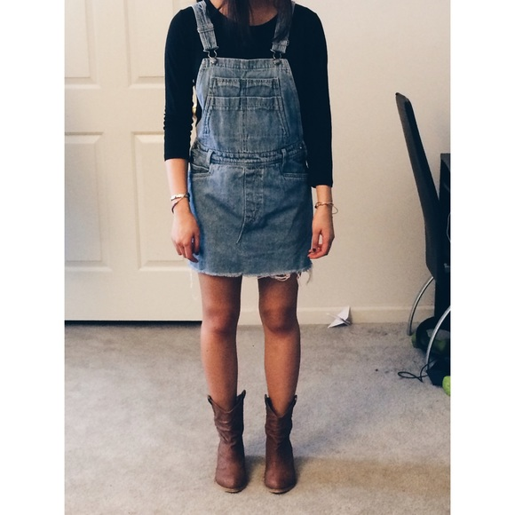 981c644df5 Urban outfitters denim overall dress