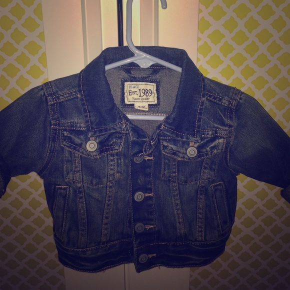 childrens place Other - Baby boys jean jacket