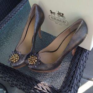 47 coach shoes coach high heel shoes euc size 7 1 2