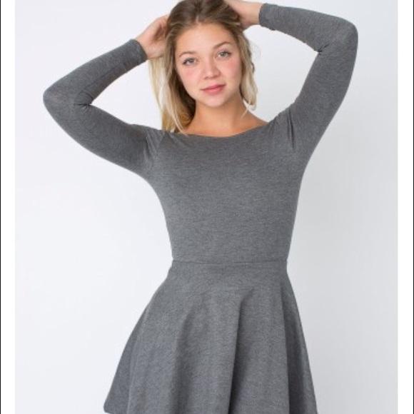 ed793da54c8d Ponte long sleeve skater dress