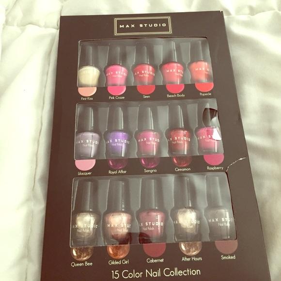 accessories max studio 15 color nail polish poshmark