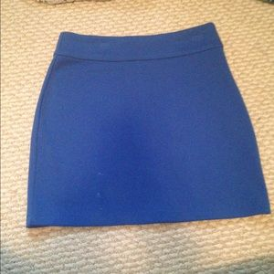 Urban Outfitters Blue Pencil Skirt