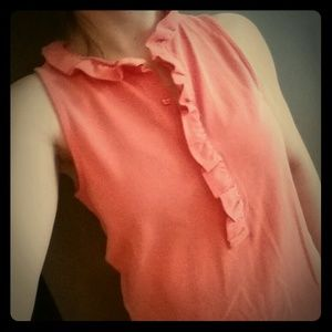 J Crew dress great coral color