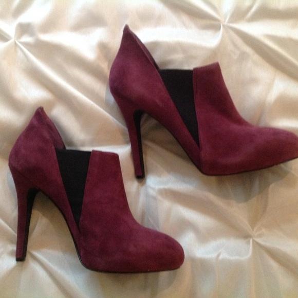 58 bcbg boots bcbg high heel calf boots from