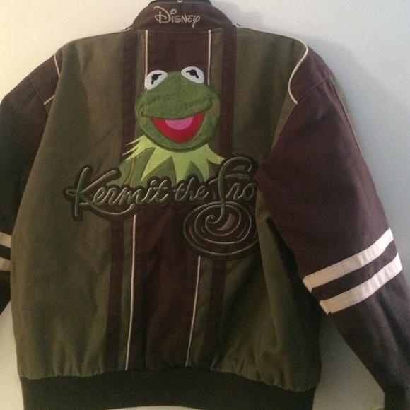 82 Off Top Gun Jackets Amp Blazers Kermit The Frog Bomber
