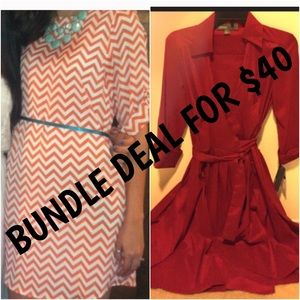 Dresses & Skirts - Bundle deal!