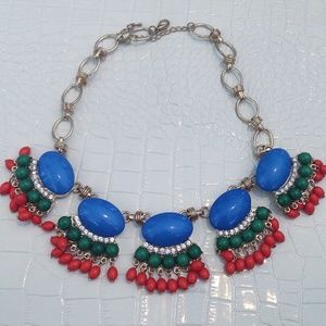 NWT Colorful statement necklace