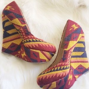 Steve Madden 'Pammyy' Tribal Wedges