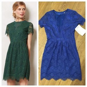 Margeaux dress in blue