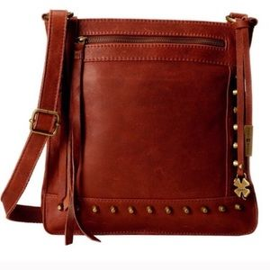 Lucky Brand Studded Leather Crossbody