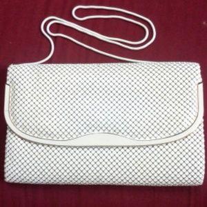Vintage White Metal Bag