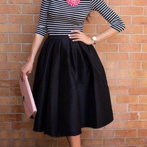 CHOiES Full Midi Skirt