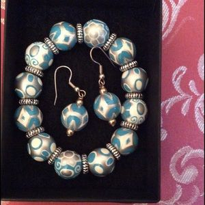Angela moore Jewelry - ❤️Sale❤️Angela Moore bracelet & earrings set