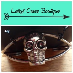 Jeune Colette Jewelry - Silver Skull Cuff
