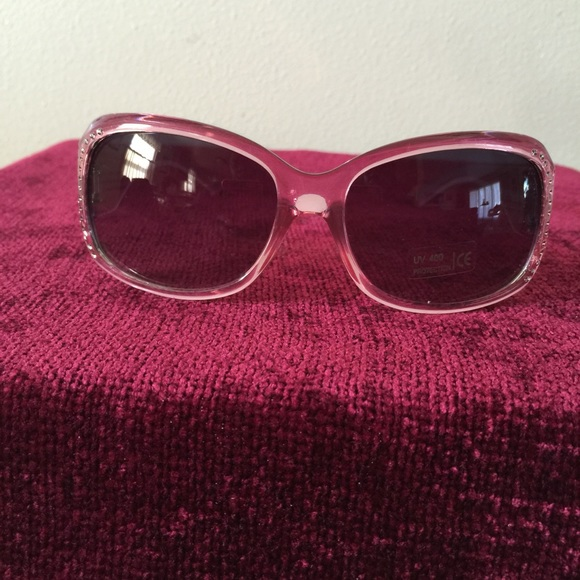 3152573986 17% off Accessories - Pink bling Sunglasses from Lisa  39 s closet on