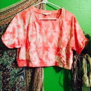 Tie dye crop top