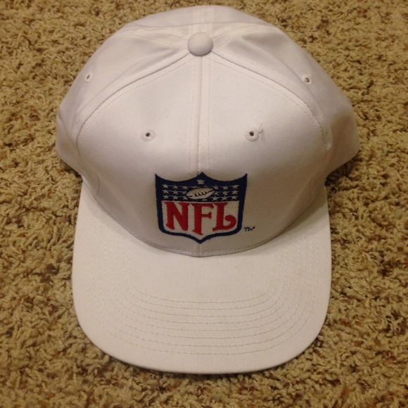 NEW Authentic Men s White NFL Referee Hat 0741309c599