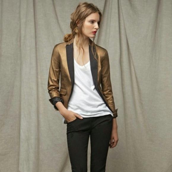 Zara black tuxedo blazer
