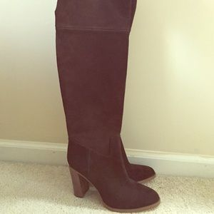 Michael Kors-Over the knee suede Regina Boot